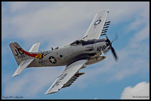 Douglas AD-4 Skyraider by AirshowDave