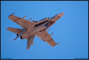 FA-18C Hornet by AirshowDave