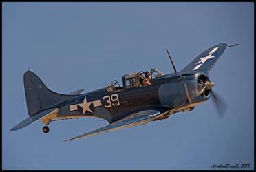 SBD-5 Douglas Dauntless by AirshowDave