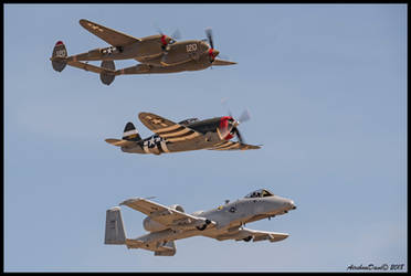 Lightning and Thunderbolts! by AirshowDave
