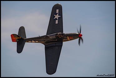 P-63A King Cobra by AirshowDave