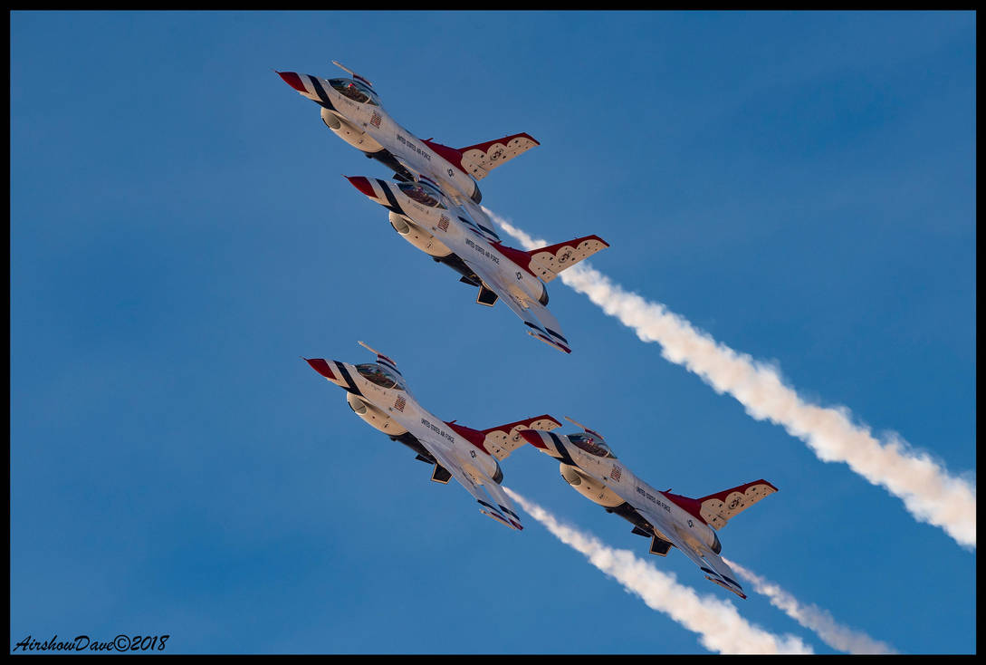 Thunderbirds Transition by AirshowDave
