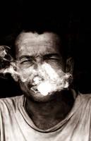 the last smoke... by rocker-sanjog