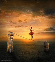 Rope Dancer by SpellpearlArts