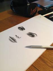 WIP Lana Del Rey by Irishaaa