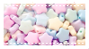 pastel star stamp by notedPaige