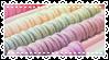 pastel macaroon stamp by notedPaige