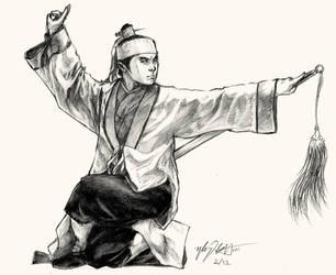 Wuxia Swordsman by fong-saiyuk