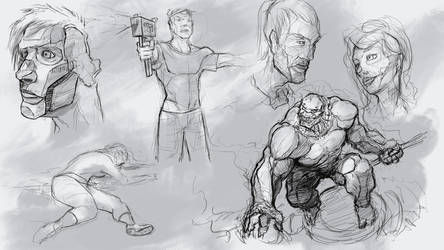 Sketches by NejnoeBu