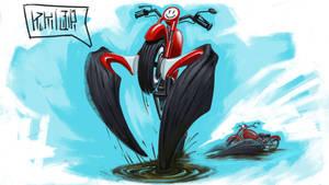 Predator bike by NejnoeBu