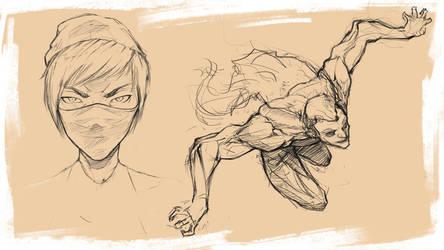 Sketch#6 by NejnoeBu