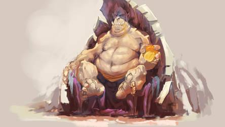 Ogre's Breakfast by NejnoeBu
