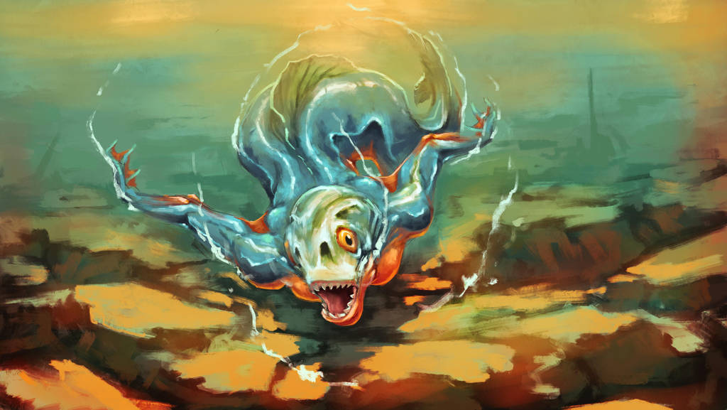 Predator mermaid by NejnoeBu