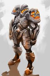 Mechwarrior armor ZK-762 by NejnoeBu