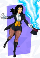 Zatanna  by Shayeragal