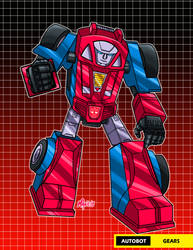 autobot gears by Shayeragal