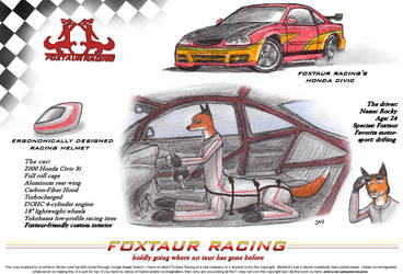 Foxtaur Racing by wannabemustangjockey