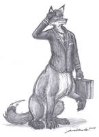 Foxtaur pilot for wulfie22593 by wannabemustangjockey