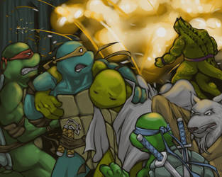 TMNT-Explosion by tmask01