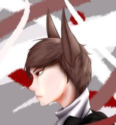 Zayden (Kitsune) by NobleLyd