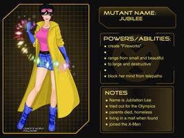 X-Girl Marvel Girl Jubilee by autumnrose83