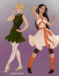 Covergirls Tink x Tiger by autumnrose83