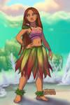 Moana-Polynesian-Princess-Ariel by autumnrose83