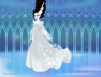 Snow-Queen - Bride of Frankenstein by autumnrose83