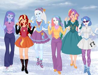 Snow-Queen - MLP Girls 2 by autumnrose83