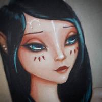 Sneak peek at Bielle by little-lina