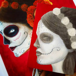 Study for Senora de los Muertos by little-lina