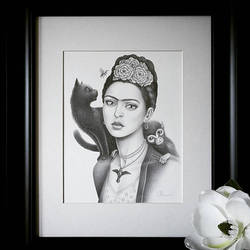 Fan Art - Frida Kahlo by little-lina