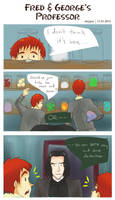 Fred And George's Professor by staypee