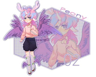 Adopt 02: Peony AUCTION [OPEN] by Momopear