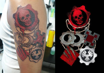 Gears Of War Tags by PiBeTrAiDoR