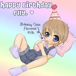 Happy Birthday Elliot by Pastel-Hime
