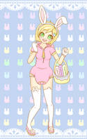 Bouncing Baby Bunny Sammy! by Pastel-Hime
