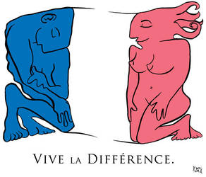 Vive la Difference by maumaurg