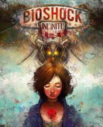 Bioshock Infinite Alternate Cover by theLazyLion