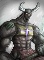 Minotaur by CalebPerkins