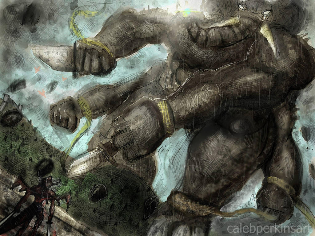 Elephantom by CalebPerkins