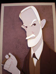Paper Freud by tracyblank