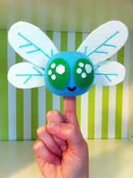 Parasprite Finger Puppet by tracyblank