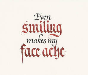 Frank N Furter - Smiling by MShades