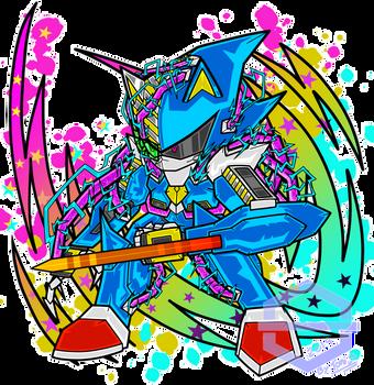 Metal Sonic (Advancer look) by Toni-Blu