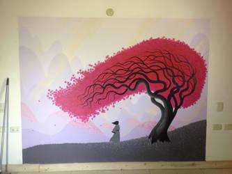 Samurai Jack Mural by KaeltarR