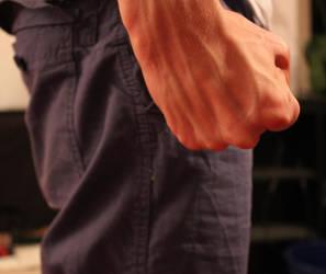 Fist close up by Konzi