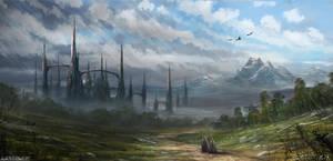 The Last City Of Magic by DBdantalion