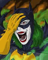 Batgirl's Pretty Smile by Jokerisdaking