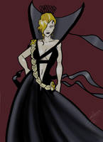 Susan Richards is Corrupted by The Dress by Jokerisdaking
